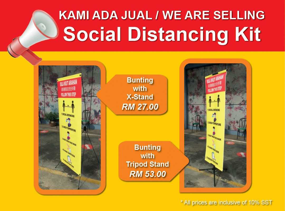 Social Distance Bunting