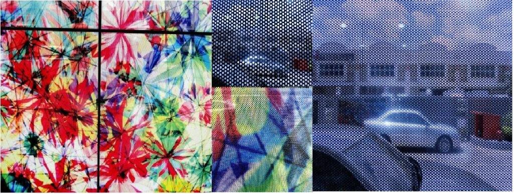 Perforated (One Way Vision) Sticker - 1200DPI (UV Ink)