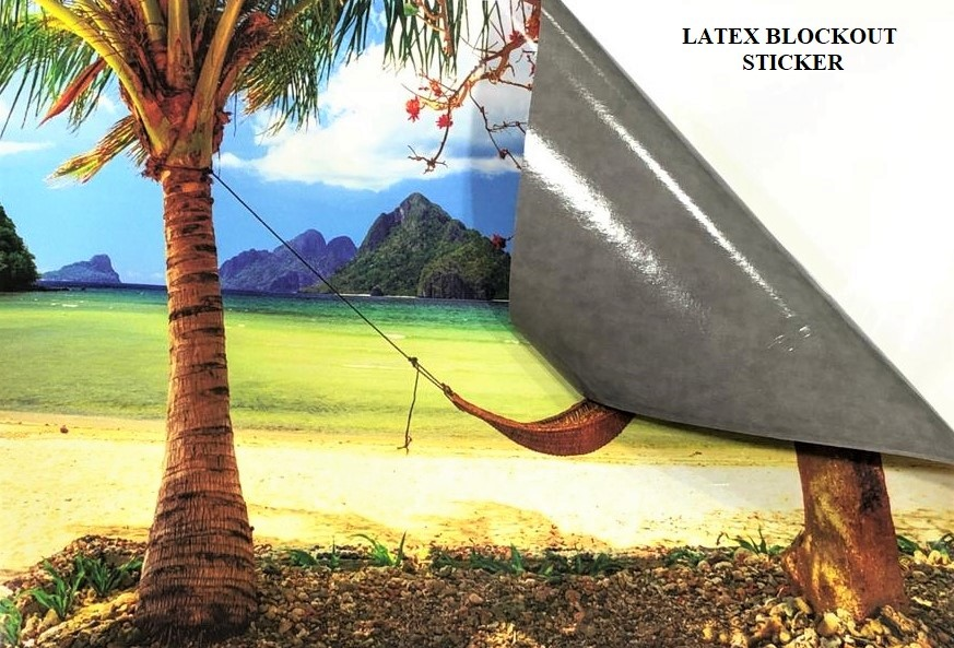 Blockout Sticker - 1200DPI (Latex II Ink) - Without Lamination (Non Light Box)